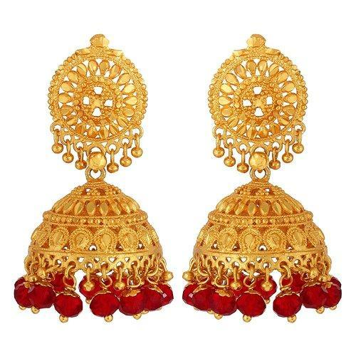 price jhumka earrings gold with design buy latest product fancy detail