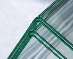 90 Degree Bent Glass