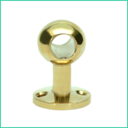 Ball Post Through - Short ( Brass)