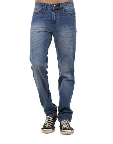 a5e4ef4941832 Men  s Slim Fit Swiss Connection Regular Dirty Blue Jeans