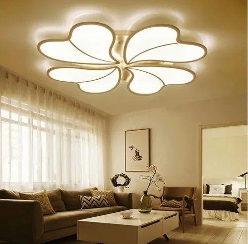 Ceiling Light Design For Hall And Ceiling Light Design For Living Room Manufacturer Gypsum Centre Bengaluru