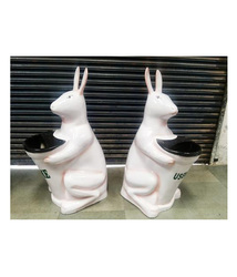 FRP JR. Rabbit Dustbin