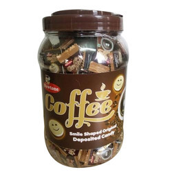 Soft Coffee Candy, Packaging Type: Plastic Jar