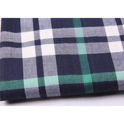 Mens Check Uniform Shirt Fabric, Use: Shirt Making