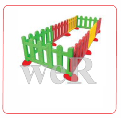 Red Play Junction  Set Of 8 Pc