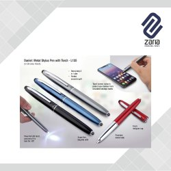 Promotional Metal Stylus Pen With Torch