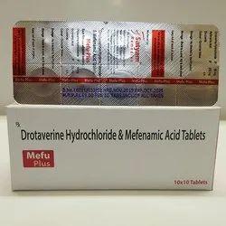 Mefu Plus Drotaverine Hydrochloride and Mefenamic Acid Tablets, Satyam Remedies, Prescription