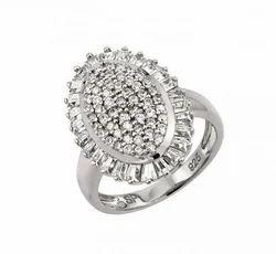 925 Silver Cubic Zircon Ring