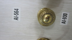 Brass Center Door Knobs