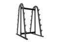 Mild Steel Barbell Rack Foty-039, For Gym, Packaging Type: Box