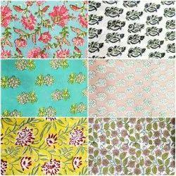 Pure Cotton Textile Fabrics For Ladies Apparels
