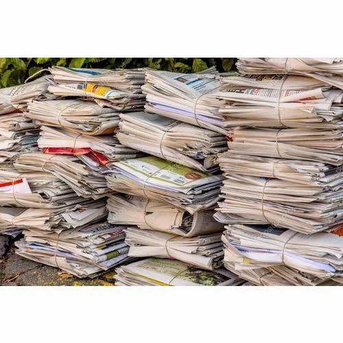 Waste Old Newspaper Scrap