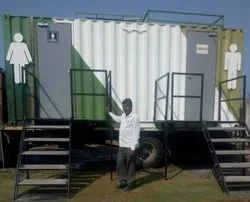 Super Luxurious Washroom Container On Rental