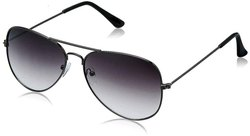 Grey Uv Protection Aviator For Women, Size: Free