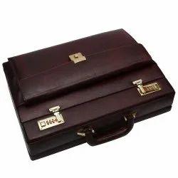 Solid Hammonds Flycatcher Original Bombay Brown Leather Briefcases