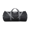 Black Polyester Duffle Bag