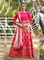 Latest Designer Wedding Wear Silk Lehenga Cholis