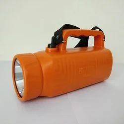 Purnima Cool White Saffron Nano Rechargeable LED Torch, Capacity: 5000-7999 Mah