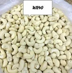 Raw Natural Cashew W240, Packaging Size: 10 kg