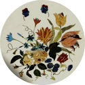 High Quality Handicraft Marble Inlay Table Top