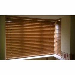 Wooden Window Vertical Blinds