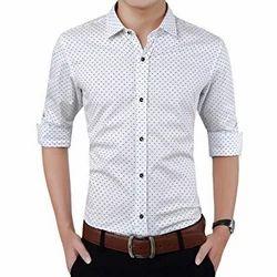 Pure Cotton Casual Wear, Formal Wear Cotton Shirts