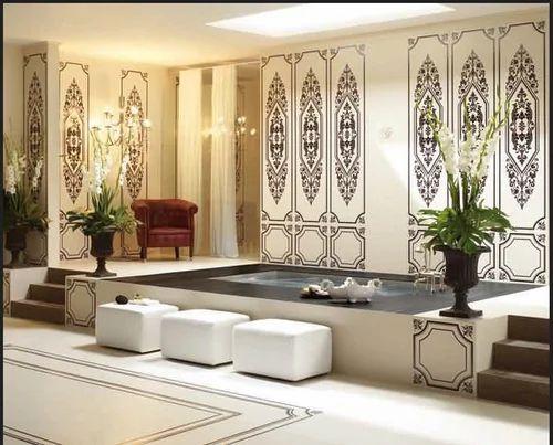 Ceramic White Hall Wall Tiles Tulsi Id 18504221773