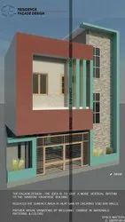 Autodesk Revit Architectural Facade Design, Bihar, Space Enhance Architects
