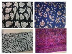 Bagru Block Print Fabrics