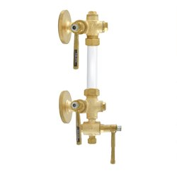 1050 Bronze Sleeve Packed Water Level Gauge