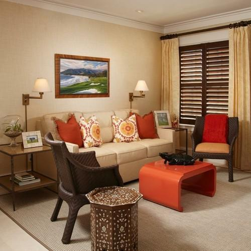 Living Room Interior In Maharashtra