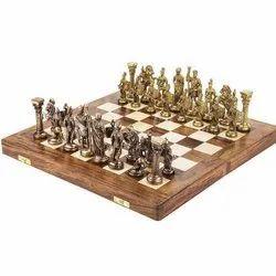 Figure Brass Chess Pieces
