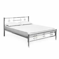 Oil Paint and Powder Coating Designer Steel Bed for Home