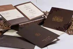 Digital Paper Wedding Card Printing Services, Location: Chennai