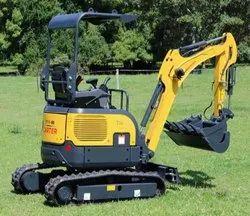 5000千克60马力小型挖掘机,最大铲斗容量:0.6立方米