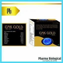 Gnk Gold -Garlic Curcumin Spirulina Ginkoba Peppermint Ginseng
