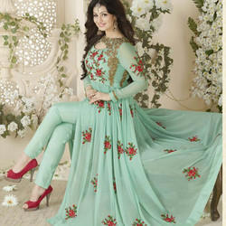 Party Wear Designer Anarkali Suit Rs 1800 Piece Manisha Fabrics Id 15133801588