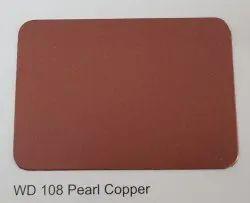 Wd -108 Pearl Copper Aluminium Composite Panel