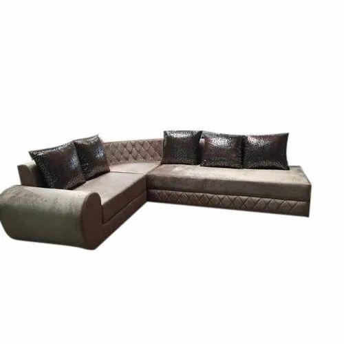Simple L Shape Sofa Set