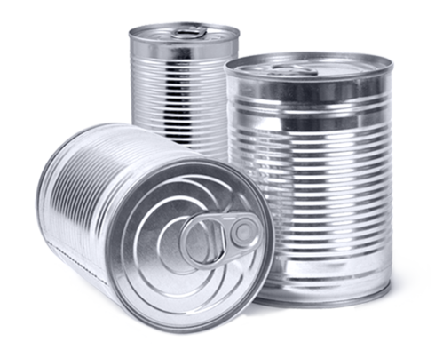 buy online bec37 2774e Tinplate Silver Food Tin Can OTS, Size  425