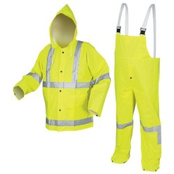 Full Sleeves Yellow Industrial Safety Uniforms, For Construction, Sea Patrolling