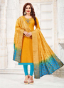 Daily Wear Cotton Churidar Suits