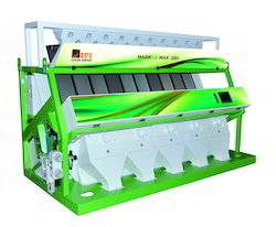 Mark J Max 280 Rice Color Sorting Machine, Capacity: 2.5 to 6 TPH