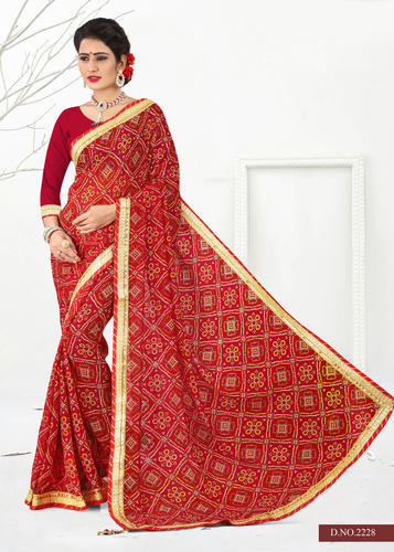 f0a0175fb1 Georgette With Nice Work - Georgette Sarees With Nice Embroidery Work  Manufacturer from Surat