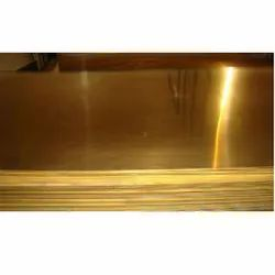 Polished Cold Rolled Brass Sheet, For Industrial, Rectangular