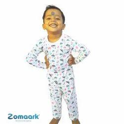 100% Pure Cotton Sleepwear_Nightwear for Boys & Girls Printed