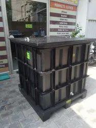 PLASTIC BOX PALLET CUSTOMISED