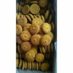 Round Butter Bakery Biscuit, Packaging Type: Packet