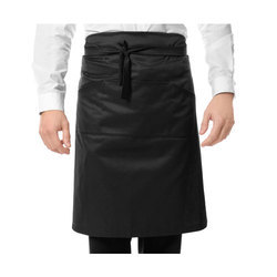 Black And Silicone Hotel Black Cooking Apron