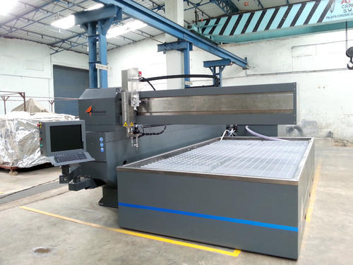 CNC Water Jet Cutting Machine